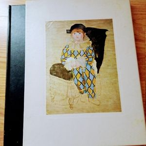 Vintage book The World of Picasso 1881-